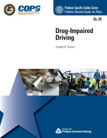 Drug-Impaired Driving - Center for Problem-Oriented Policing