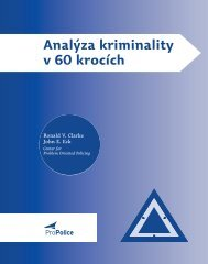 Analýza kriminality v 60 krocích - Center for Problem-Oriented Policing