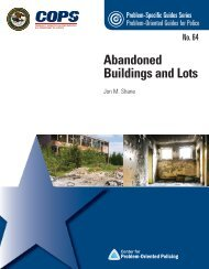 Abandoned Buildings and Lots - Center for Problem-Oriented Policing