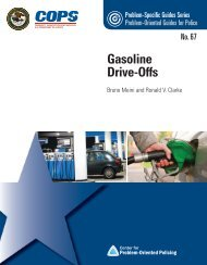 Gas Drive Offs - Center for Problem-Oriented Policing