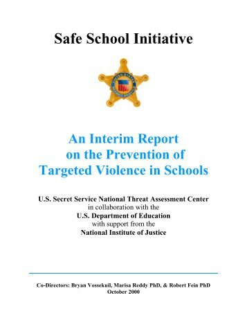Safe School Initiative - Center for Effective Collaboration and Practice