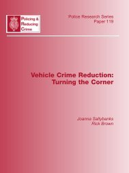 Vehicle Crime Reduction - Center for Problem-Oriented Policing