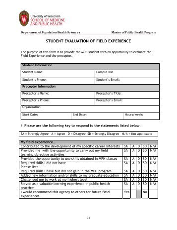evaluation of experience Trish houghton academic school coordinator (standards, enhancement and the learner experience) and senior lecturer, school of health and human sciences, university of bolton, bolton, england this article, the final in a series of 11, discusses the importance of evaluating the students' learning experience.