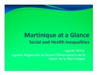 Social and Health Inequalities - Department of Population Health ...