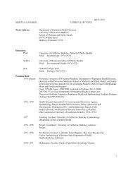 October 10, 2000 - Department of Population Health Sciences ...