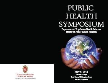 Public Health Symposium Book - Department of Population Health ...