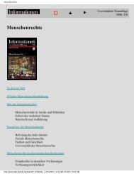 Menschenrechte im demokratischen Rechtsstaat - Poprawka.de