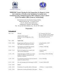 22-24 November 2004, Geneva, Switzerland - Stockholm ...