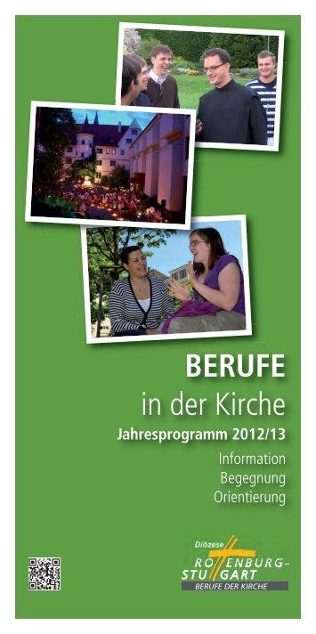 berufe - Diözese Rottenburg-Stuttgart
