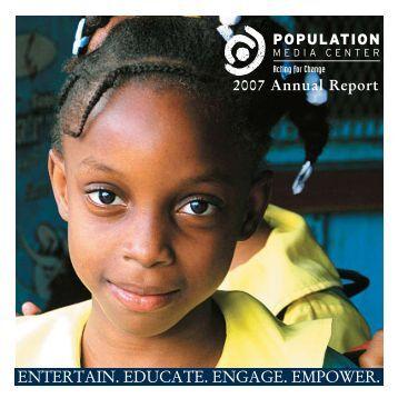 2007 Annual Report - Population Media Center
