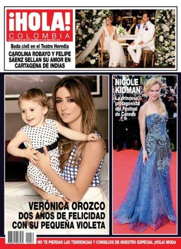 Revista Hola Colombia 22-05-2014