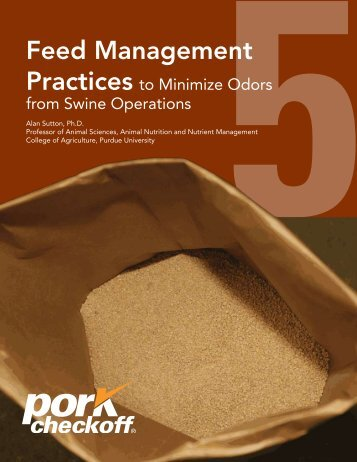 Feed Management Practices to Minimize Odors from Swine ...