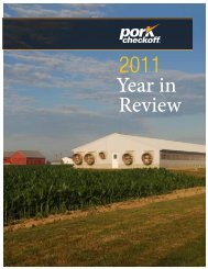2011 Annual Report - National Pork Board