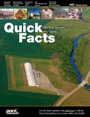 The Pork Industry at a Glance - National Pork Board