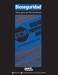 biosecurity book SPANISH - National Pork Board