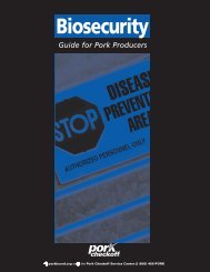 biosecurity book - National Pork Board