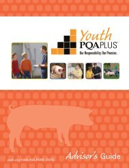 Advisor's Guide - National Pork Board