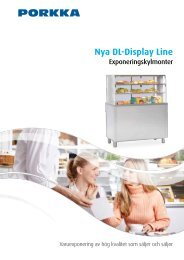 Nya DL-Display Line - PORKKA Norge AS