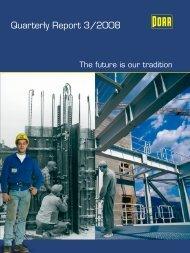 Quarterly Report 3/2008 - PORR AG