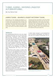 tunnel aubing – bayerns längster autobahntunnel - Porr.rs