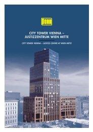 CITY TOWER VIENNA – JUSTIZZENTRUM WIEN MITTE - Porr.rs