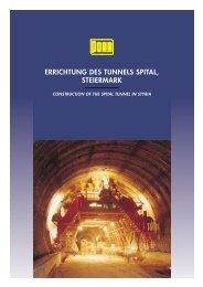 ERRICHTUNG DES TUNNELS SPITAL, STEIERMARK - Porr.rs