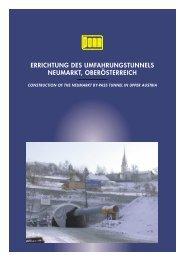 errichtung des umfahrungstunnels neumarkt, oberösterreich - Porr.rs