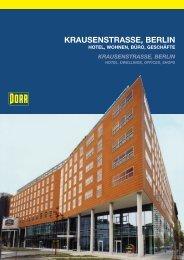 Krausenstraße, Berlin Hotel, Wohnen, Büro, Geschäfte - Porr.rs
