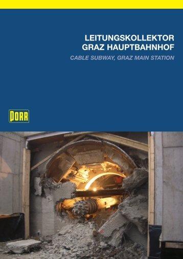 LEITUNGSKOLLEKTOR GRAZ HAUPTBAHNHOF - Porr.rs