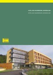 hotel bad sauerbrunn, burgenland hotel bad sauerbrunn ... - Porr.rs