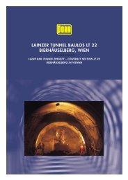 lainzer tunnel baulos lt 22 bierhäuselberg, wien - Porr.rs