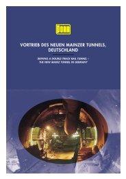 vortrieb des neuen mainzer tunnels, deutschland - Porr.rs