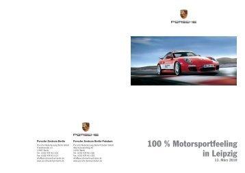 Ausschreibung + Nennung - Porsche Club Berlin eV