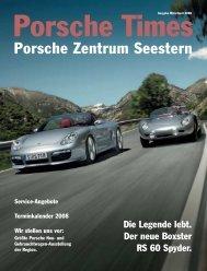 Ausgabe März/April 2008 - Porsche