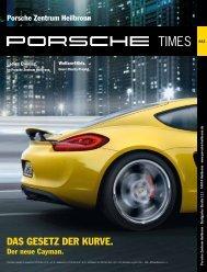 DAS GESETZ DER KURVE. - Porsche Zentrum Heilbronn
