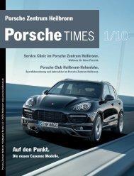 Auf den Punkt. - Porsche Zentrum Heilbronn