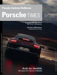 Kraft der Identität. Porsche Zentrum Heilbronn