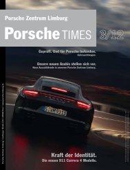 Ausgabe 3/12 - Porsche Zentrum Limburg