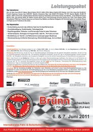 Flyer zum Event - Porsche