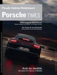 Kraft der Identität. Porsche Zentrum Niederbayern