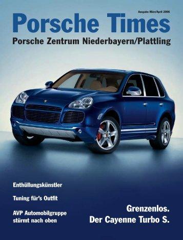 Grenzenlos. Der Cayenne Turbo S. Porsche Zentrum Niederbayern ...