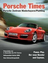 Porsche Zentrum Niederbayern/Plattling