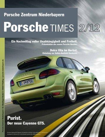Porsche Times 1/12