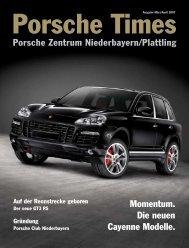 Momentum. Die neuen Cayenne Modelle. Porsche Zentrum ...