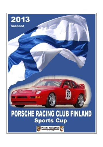 1 - Porsche Racing Club Finland