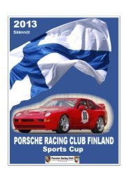 PRCF Sports Cup 2013.2 - Porsche Racing Club Finland