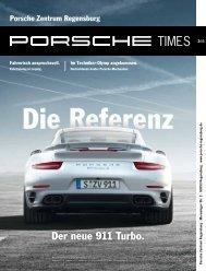 Ausgabe 2/2013 - Porsche Zentrum Regensburg