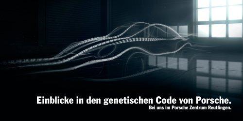 Flyer als PDF - Porsche Zentrum Reutlingen