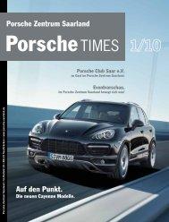Porsche Zentrum Saarland Auf den Punkt.
