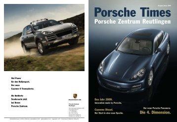 Ausgabe Jan 2009 - Porsche Zentrum Reutlingen